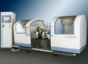 Schenck HM30 Horizontal axis balancing machine